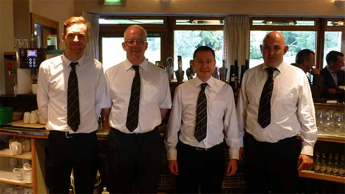 Bar staff at Grange Golf Club